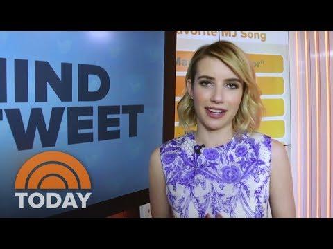 Emma Roberts' Matching Sushi Pajamas | Behind The Tweet | TODAY