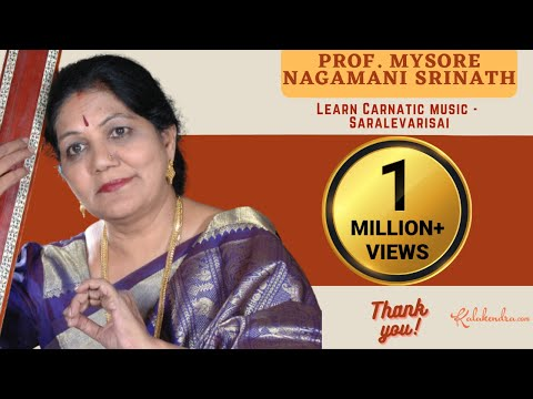 Learn Carnatic Music Lesson Saralevarisai