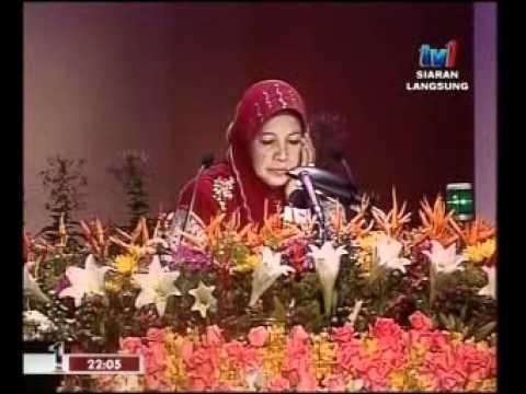 Johan Qariah Tilawah Al Quran Kebangsaan 2012 (KL) Hjh. Che Aminah Che Awang (Wilayah Persekutuan)