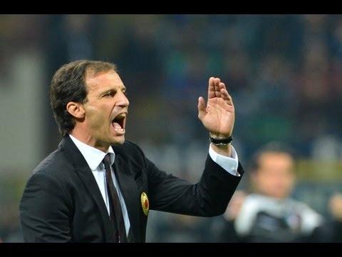 Milan's Allegri generous in his praise for Juventus as rivals win title