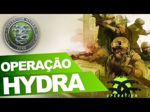 OPERAÇÃO HYDRA, A NOVA OPERAÇÃO NO CS GO - MOSTRANDO OS NOVOS MODOS DE JOGO