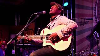 """Javier Colon """"Someone Like You"""" - NAMM 2012 with Taylor Guitars"""