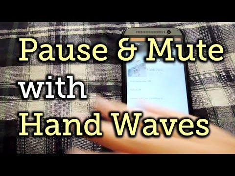 Silence Your Phone's Music With A Simple Hand Wave - Android - Htc One [how-to] video
