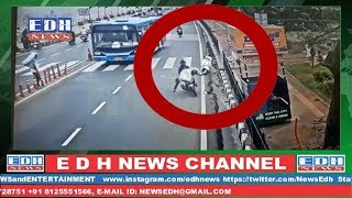 Man accident in Tank Bund Hyderabad  while crossing the road | EDH NEWS | CHENNEL