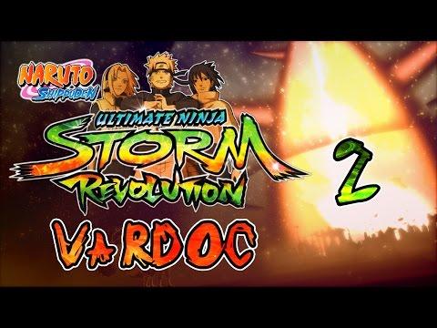 Naruto Shippuden: Ultimate Ninja Storm Revolution Jugando Parte 2 #Vardoc1 En Español