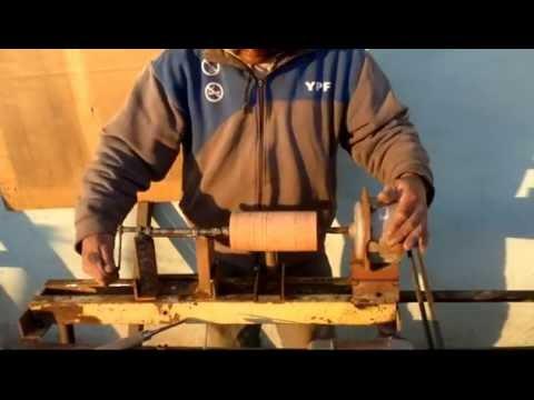 como hacer un torno para madera5-5