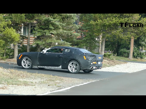 Is this the 2016 Chevy Camaro Turbo Prototype Spied in the Wild?