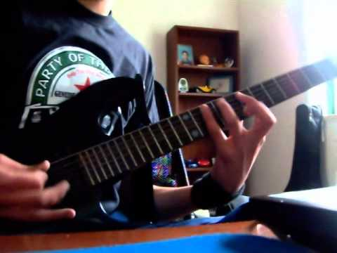 Slayer - Raining Blood cover by Metallicafran HD sound