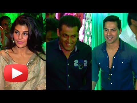 Spotted: Salman Khan, Varun Dhawan, Jacqueline Fernandez at Baba Siddiqui's Iftar Party