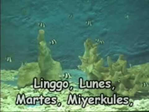 Pitong Araw sa Isang Linggo (Tagalog Nursery Rhyme)