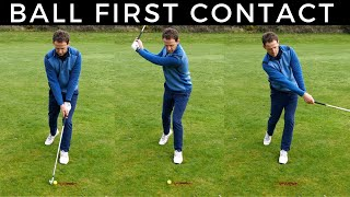 How To Hit the Ball Then The Turf With Your Irons - Magic Drill