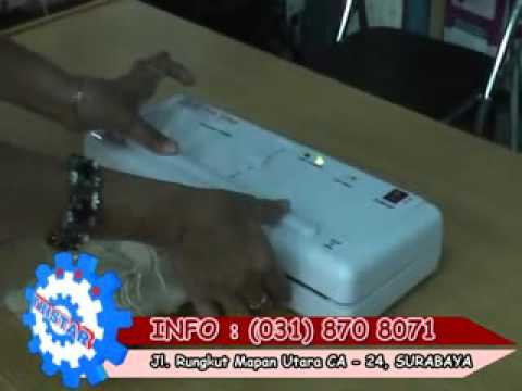 Mini Vacuum Sealer Mesin Pengemas Vakum Portable