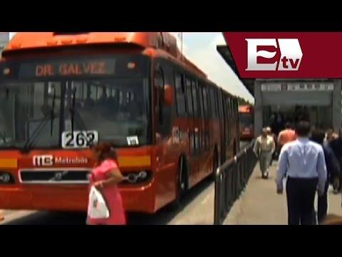 Metrobús renovará 45 camiones de su flotilla / Vianey Esquinca