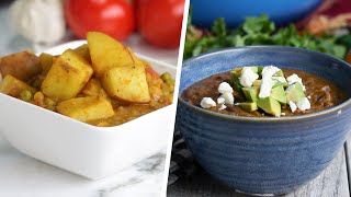 4 High-Fiber Vegetarian Meals •Tasty