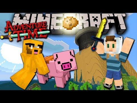 Minecraft: Adventure Time with Jake The Lost Potato Ep.1 Prison Break