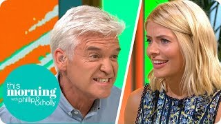 Holly and Phillip Get Uber Competitive Over a Game of 'Guess the Gadget' | This Morning