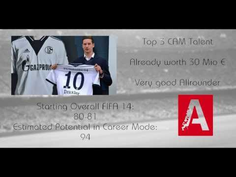 FIFA 14 Career Mode Best Young Top Talents - Julian Draxler