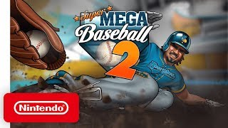 Super Mega Baseball 2 - Announcement Trailer - Nintendo Switch