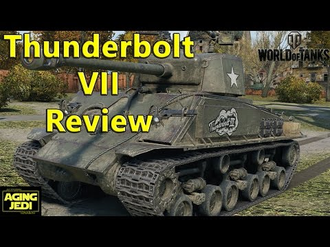 Thunderbolt VII USA Premium Tank Review - World of Tanks