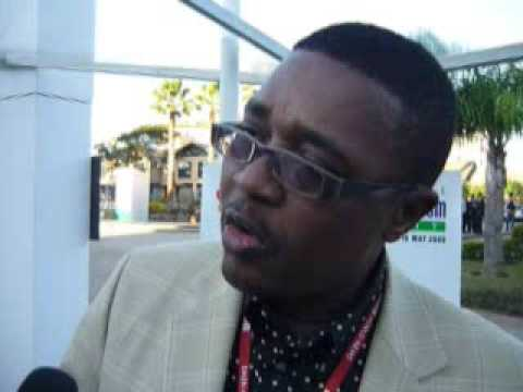Walter Mzembi, Tourism Minister Walter Mzembi, Zimbabwe @ WTTC 2009