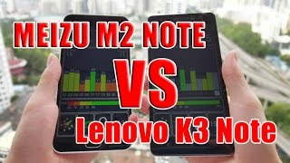 Meizu M2 Note VS Lenovo K3 Note Ceramic Speaker Version- Brought You To Buy