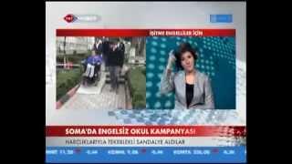 Soma'da Engelsiz Okul Kampanyası