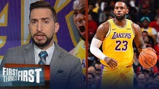 LeBron has been the best player in the NBA for last 14 years —Nick Wright | NBA | FIRST THINGS FIRST