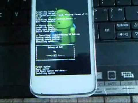 Flashing Alcatel One Touch Soleil from MIUI v5 to Galaxy S4 ROM