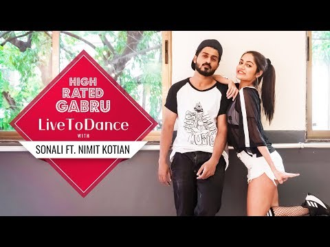 High Rated Gabru | Guru Randhawa | LiveToDance with Sonali ft. Nimit Kotian