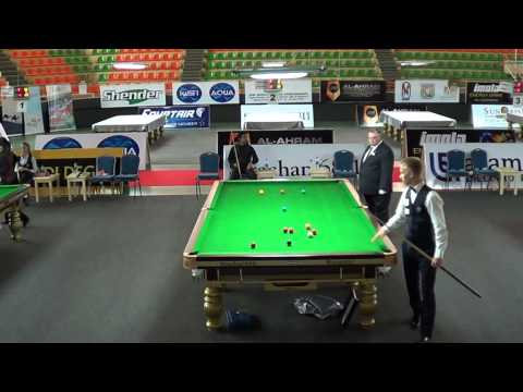 2014 IBSF World 6Reds Final Frame3 - Pankaj vs. Kacper