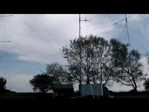 Blacksheep CG - RSGB May 144Mhz Contest 2013 - site and ants