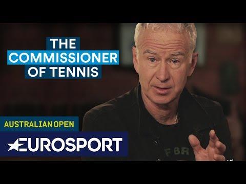 Best of John McEnroe at the Australian Open | The Commissioner of Tennis | Eurosport