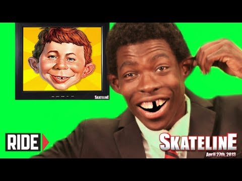 &quot;Mark Suciu is pro&quot; - SKATELINE BLOOPERS
