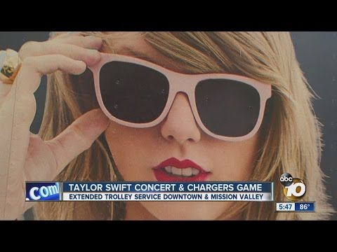 Taylor Swift concert, Chargers preseason game could make for hectic Saturday night