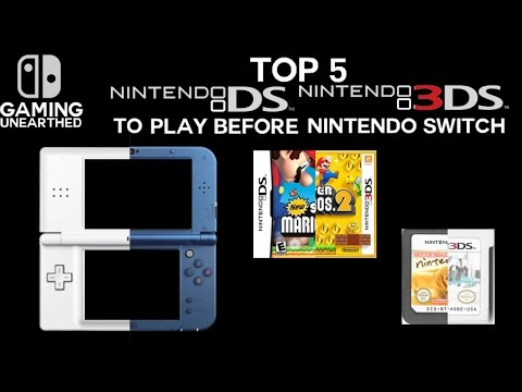 top 5 nintendo ds and nintendo 3ds games to play before