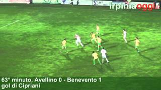 Irpiniaoggi.it - Avellino-Benevento 0-1 videosintesi - 181012