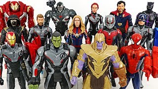 Marvel Titan Hero Endgame Thanos VS Avengers! #DuDuPopTOY
