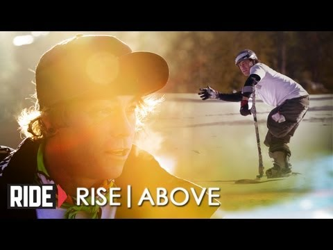 One Legged Skater & Snowboarder Hits Boxes On The Mountain (Part 2) - Rise Above