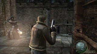 resident evil 4 HD project - Enemies weapons cast light AND MORE