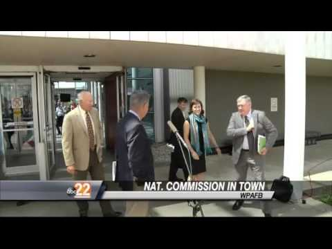 National Commission Visits WPAFB to Take Report to President