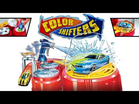 Playing with Hot Wheels : Color Shifters Colour Shot Play Set