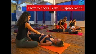 Know the best way how to check Navel Displacement? - AYM Yoga School