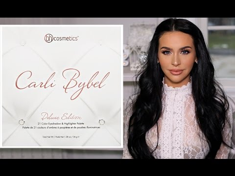 CARLI BYBEL DELUXE EDITION PALETTE | FIRST LOOK & SWATCHES!
