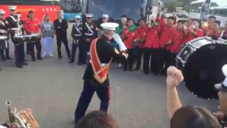 Epic Drum Face Off I Marines Vs Korean Rok Army Army Bands