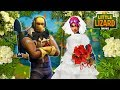 RAPTOR AND LITTLE KELLY WEDDING! - FORTNITE SHORT FILM