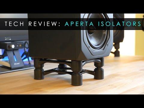Tech Reviews | Aperta Speaker Stand Isolators | Isoacoustics