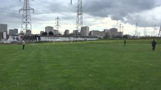Cricket khela in Paris Dhaka vs Noakhali 25 avril 2016