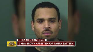Chris Brown arrested in Palm Beach for allegedly