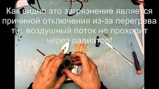 Разборка и чистка (Disassembly and Cleaning) Samsung NP-R580