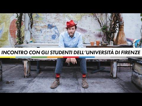 Incontro con gli studenti dell'Università di Firenze